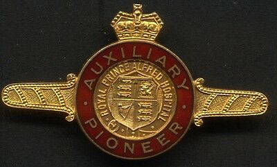 9 Carat Royal Prince Alfred Hospital Auxiliary Pioneer Badge