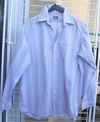 Chemise Lacoste Devanlay Homme Taille M ( 41 )
