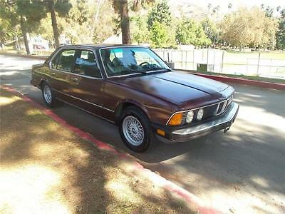 1985 BMW 524 - 528 - 535 - 635 - 735 735I 1985 BMW 524 - 528 - 535 - 635 - 735 735I 227,000 Miles Burgandy  Straight 6 Cyl