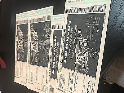 Entradas Aerosmith en Madrid
