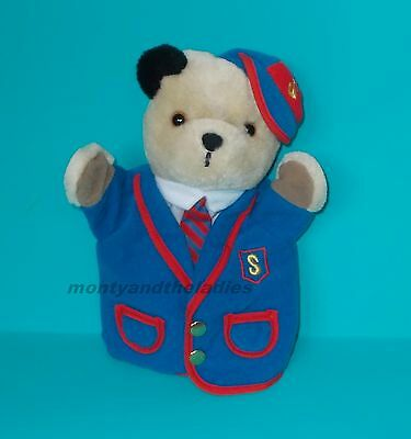Sooty & Sweep Show Little Cousin Scampi Schoolboy Uniform Hand Puppet Vgc