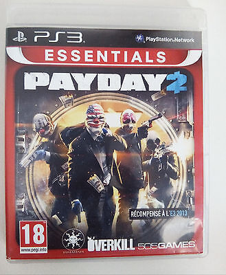 Jeu PLAYSTATION 3 PS3 - PAYDAY 2 complet