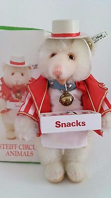 STEIFF 650499 USA Teddy Baby Food Vendor*Süßigkeitenver.*GoldenAge of the Circus