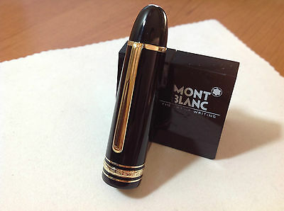 MONTBLANC MEISTERSTUCK 149 Fountain Pen PART CAP with BLACK and GOLD New