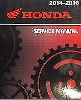 Honda CTX1300 / CTX 1300 Workshop Manual 2014-2016
