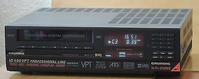 Grundig VS680 VPT S-VHS Professional Line Video Player