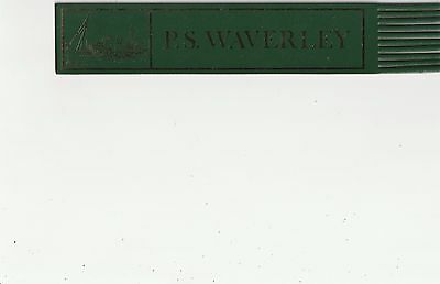 Leather Bookmark - Ps Waverley.