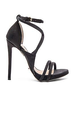 'Tony Bianco' Alita Strappy Heel Black Chicago Women's Size 6.5