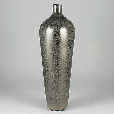 Berndt Friberg (1950s) Striking Gray Haresfur Vase