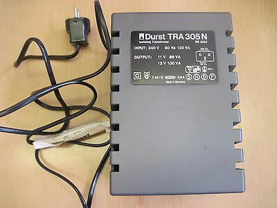 Durst TRA 305N Transformer Power Supply Unit For Photographic Enlargers