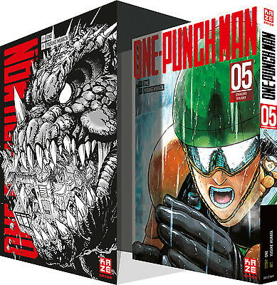 ONE-PUNCH MAN 5 + Sammelschuber - Deutsch - KAZE - NEUWARE