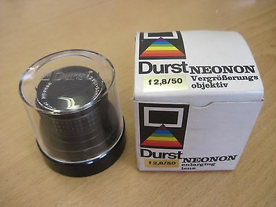 Durst Neonon 50mm f2.8 Enlarging Lens Boxed Good Condition M39 Screw Mount