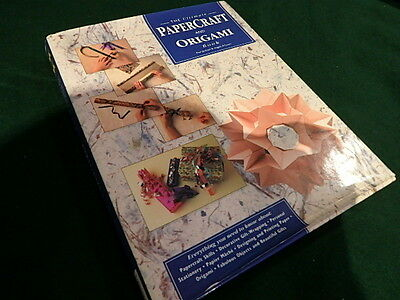 The Ultimate Papercraft & Origami Book Paul Jackson & Angela A'court Hardcover