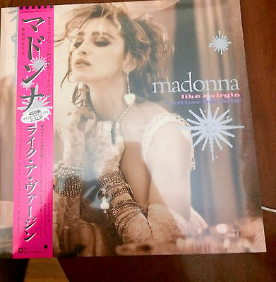 Madonna Like A Virgin And Others Big Hits! Limited Edition Record Store Day