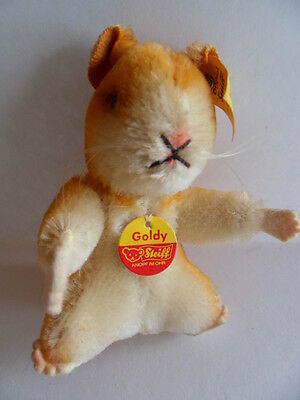 Steiff hamster mohair  miniature all IDs made in  Germany   12
