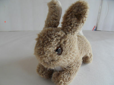 Steiff rabbit button  brown miniature made in Germany 1640