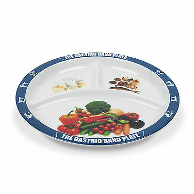 World Slimming Gastric Band Plate Dieting Plate Divided Portion Control Plate