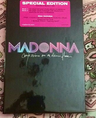 Madonna Confessions On A Dancefloor Special Edition 2 Books And Bonus Track