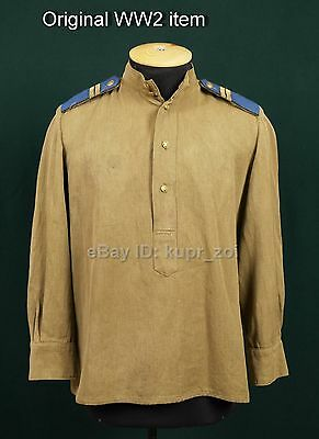 Rare Gimnasterka RKKA WW2 for NCO without pockets cavalry guard  NKVD