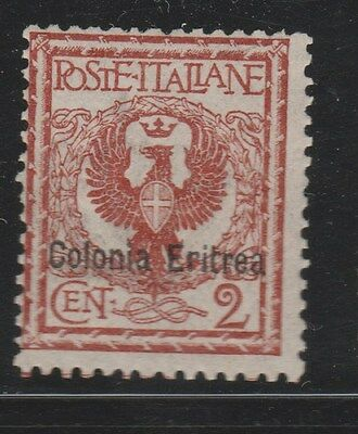 ERITREA 1903 SG20 2c Brown MLH  #