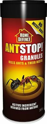 Home Defence Ant Stop Ant Bait Killer Granules 300g - Kills Ants & Their Nests