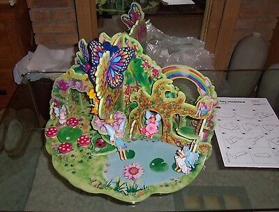 Elc Wooden Fairyland With Accessories & Fairies - Great Fun For Little One