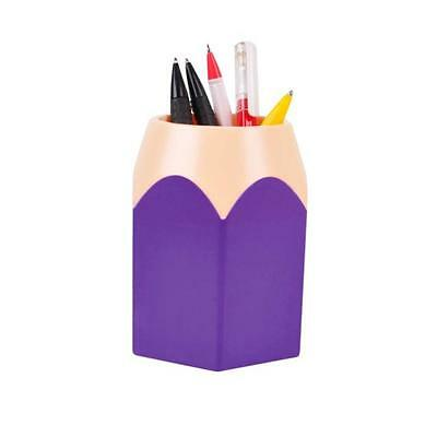 Makeup Brush Vase Pencil Pot Pen Holder Stationery Storage PPD