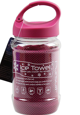 Cool Ice Towel Sports Cold Gym Drying Sweat Absorb Dry
