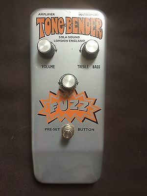 Colorsound / Sola Sound Tone Bender Fuzz RI - lovely sound and condition