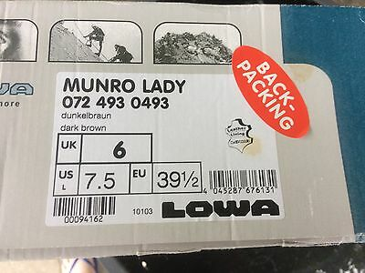 Lowa Ladies Walking Boots size 6