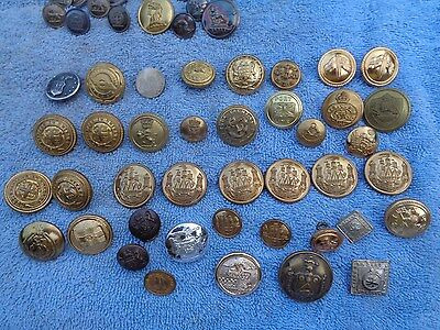 A small collection of Armorial Livery Buttons