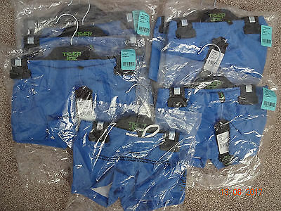 Seafolly Tiger Joe boys swimwear trunks Ages 2 3 4 6 years blue BNWT