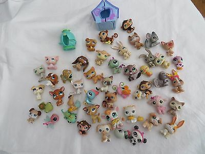 BEAU LOT LITTLEST PETSHOP / niche.... AVEC 47 FIGURINES  9 photos