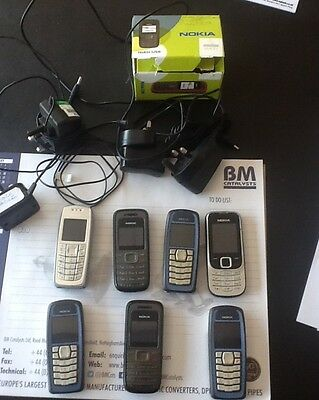 Assorted Nokia Mobile Phones