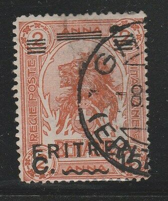 ERITREA 1922 SG60 15c Brown VFU  #