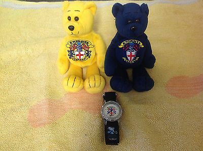 Knights Ice hockey Watch and Beanie Bears Set#2