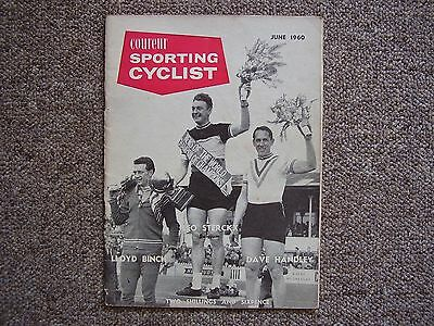 Sporting Cyclist Magazine JUNE 1960 Leo Sterckx Dave Handley and Lloyd Binch Ed.