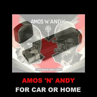 Enjoy Amos & Andy In Your Car Or Home! More Than 300 Old Time Radio Shows