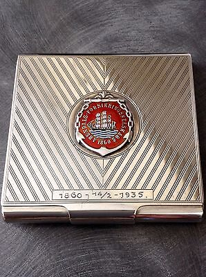 Lovely Solid Silver Cigarette Case