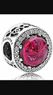 New Spring 2017 Latest Release PANDORA Disney Belle's Radiant Rose - 792140NCC