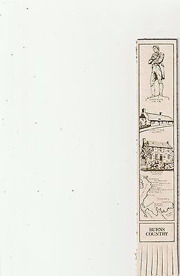 Leather Bookmark - Burns Country.