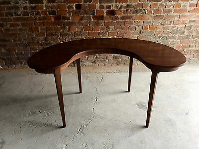 Maagnificent Antique Hunt Table Kidney Shaped Mahogany Victorian19th Century