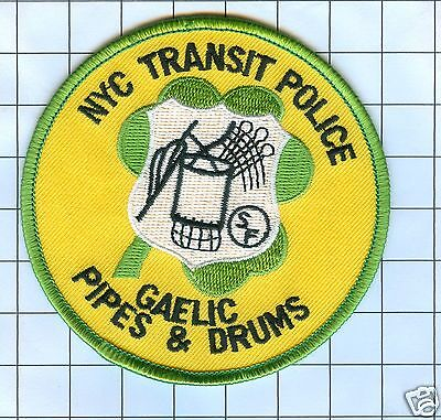 Police Patch -NYC Gaelic Police