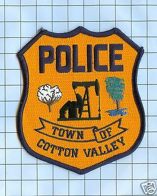 Police Patch - Louisiana Town of Cotton Valley