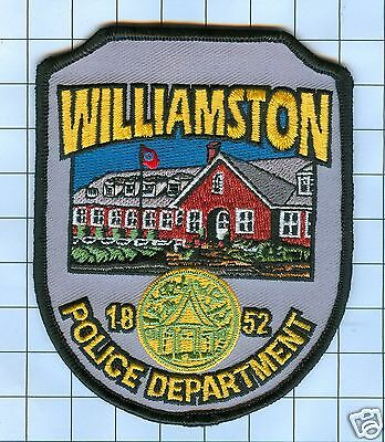 Police Patch - Williamston 1852