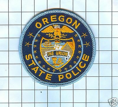 Police Patch - Oregon State Police