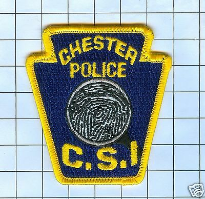 Police Patch - Chester Pa C.S.I.