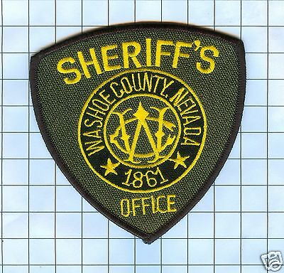 Police Patch - Nevada Washoe County Sheriff's Office