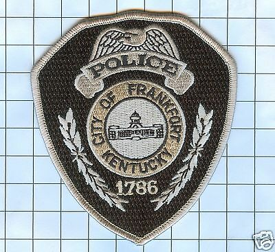 Police Patch - Kentucky - City of Frankfort