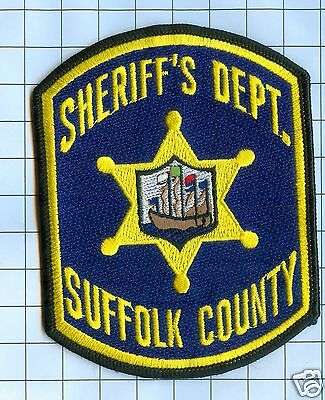 Police Patch - Massachusetts - Suffolk County Sheriff's Dept.